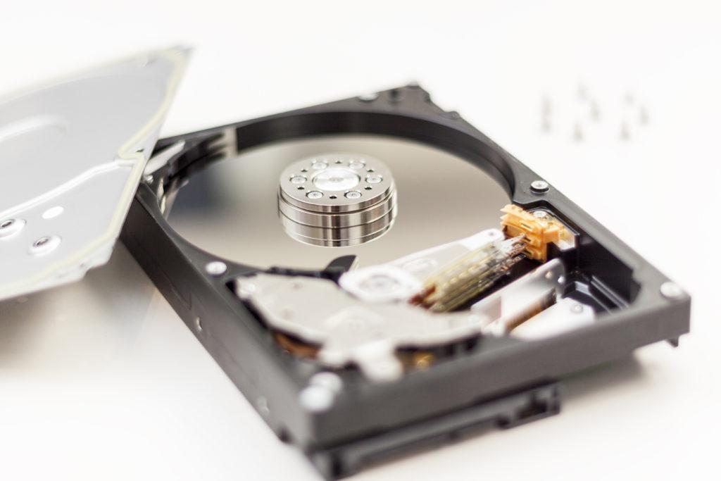 Equipos informáticos disco duro