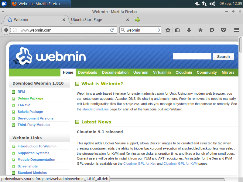 descarga-webmin
