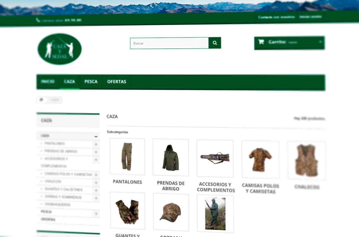 imagen de tienda online creada por indexDesarrollo