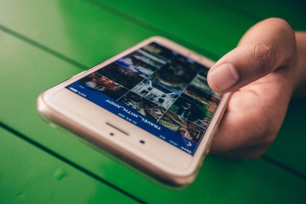 fotografía en Internet Smartphone