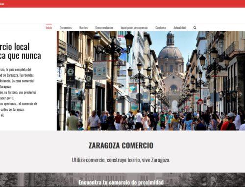 Zaragoza Comercio, nueva web para el comercio de proximidad